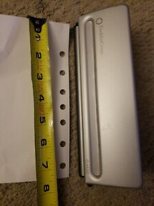 """Franklin Covey Classic Desk Size 7-Hole 8.5"""" X 5.5"""" PLANNER PAGE Punch"""