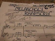HARRY JAMES BIG BAND ARRANGEMENT OF MELANCHOLY RHAPSODY AMAZING TRUMPET SOLO
