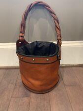Fendi bucket palazzo handbag tobacco new without tag with dust bag