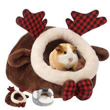 Soft Pet Warm Guinea Pig Bed House Hamster Rat Hammock Nest Pad Animal Gift Xmas