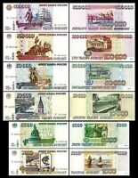 Russie -  2x  1.000 - 500.000 Roubles - Edition 1995 - Reproduction - 01