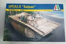 Italeri 6470 LVT(A)-2 Saipan Amphibious Landing Vehicle Tracked Model 1:35 scale