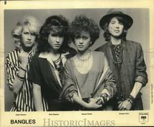 1984 Press Photo Debbi Peterson, Vicki Peterson, Michael Steele & Susanna Hoffs