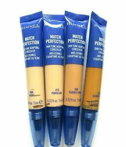 RIMMEL Match Perfection Concealer 7ml- VARIOUS USE MENU 005  010 030 040 050 060