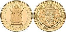 More details for gold half sovereign 1989 elizabeth ii 500th anniv. sov. s-4277 mint rah2314