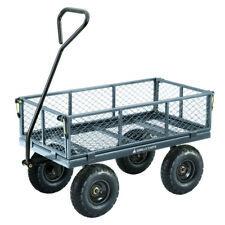Gorilla Carts Steel Utility Cart 600 Lb. Capacity