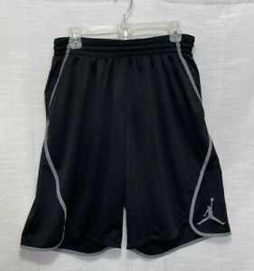 Air Jordan Men's Basketball Shorts With Pockets XXL Black