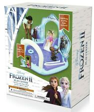 Disney Frozen 2 II Inflatable Play Center swimming pool kid ring toss fun slide