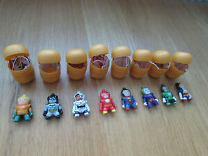 Kinder Suprise Full Complete Set DC Justice League VGC FREEPOST