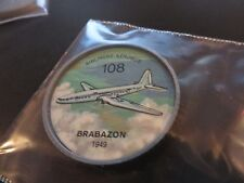 1961 JELL-O HOSTESS AIRPLANE SERIES COIN #108 1949 BRABAZON CANADIAN