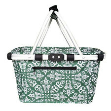Genuine! D.LINE Sachi Collapsible Carry Basket 37 x 21 x 23cm Bohemian Green!