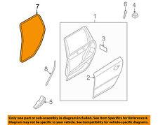 VOLVO OEM 10-16 XC60 Rear Door-Body Weatherstrip Seal 31424325