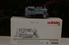 """Märklin H0 33043 Dampflok BR 80 030 DRG  """" Museumslokomotive """"    NEU/OVP A28"""