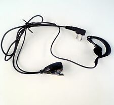 Earloop Headset Earpiece MIC for ICOM IC-F11 IC-F21 IC-F4011 V80E walkie talkie