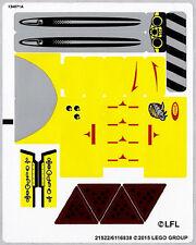LEGO 75092 - Star Wars - Naboo Starfighter - STICKER SHEET