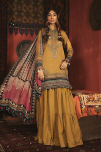 Maria.B M-Prints-904a 2020 winter Stitched suit in M-L size