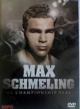 MAX SCHMELING THE CHAMPIONSHIP YEARS DVD BOXING FIGHTS KNOCKOUT RETRO