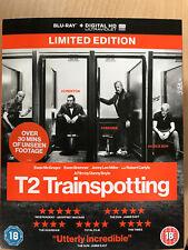 Ewan McGregor T2 Trainspotting 2~2017 Británico Película RU Blu-Ray con / FUNDA