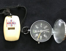 Vintage RNLI Whistle Plus Compass Life Boat ?