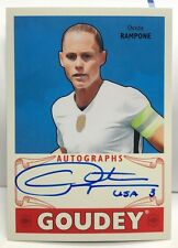 Christie Rampone 2016 UD Goodwin Champions Goudey on-card Autograph Auto - 1:630