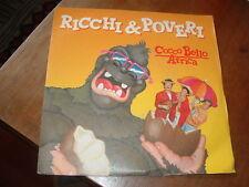 """RICCHI & POVERI """" COCCO BELLO AFRICA """"  ITALY'87"""