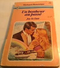 Book in French UN BONHEUR AU PASSE Livre en Francais HARLEQUIN ROMANTIQUE