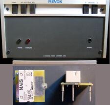 2 Stck ERSATZRELAIS für Revox A722 - 2 pc relay replacement for Revox  A 722