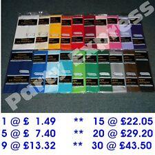 """Plastic Table Cover Cloth Oblong 54"""" x 108"""" 20 COLOURS BULK BUY SAVINGS FREE P+P"""