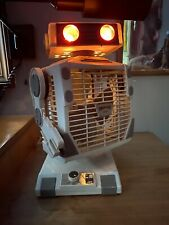RARE Vintage 1986 Robeson ROBO The ROBOFAN Robot. Fan and light WORKS!