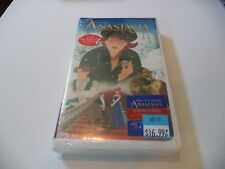 Anastasia VHS, 1998 Fox White Claimshell  Brand new sealed