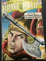 THE BRAVE AND THE BOLD. NO. 21. 1ST SERIES. 1959 SILVER AGE. THE VIKING PRINCE.