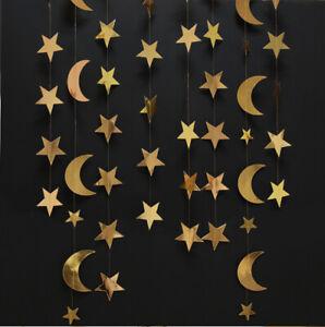 1X Ramadan Kareem Pennant Bunting Eid Muslim Islam Banner Party Hanging Decor UK
