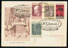MayfairStamps Poland 1962 W Lenin Political Leader Stationery Card WWG63695