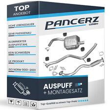 Auspuff ALFA ROMEO 147 1.9 JTD JTDM 2000-2010 Auspuffanlage 632