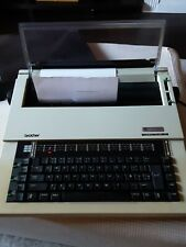 Typewriter Vintage Electric Brother Compactronic 60 W Cover TESTED WORKS GREAT
