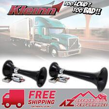 Kleinn Air Horn Model 220 Dual Train horn ABS w/ Black High Impact ABS Trumpets