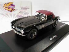 Schuco 02180 # BMW 507 Cabrio Softtop in schwarz-rot 1:43 Neuheit Lim.Ed. 500 pc
