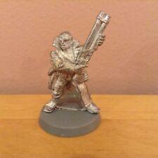 Necromunda Delaque Ganger w/ Shotgun Metal Figure Warhammer 40K C125