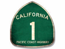 "4"" california pacific coast highway pch car sticker decal usa made"
