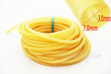10M Yellow Rubber Latex Tube Bungee Rubber Tubing Replacement 3070