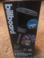 billboard BB567 Bluetooth Wireless Karaoke Mic & Speaker With Built-in Effects