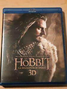 THE HOBBIT LA DESOLATION DE SMAUG  3D+BLU-RAY+DVD