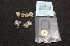 Complete Guitar Circuit Wiring Kit for Gibson Style Guitar, Les Paul, SG Ivory