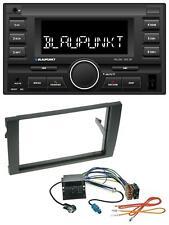 Blaupunkt MP3 USB 2DIN Bluetooth AUX Autoradio für Audi A4 01-08 B6 B7 Quadlock