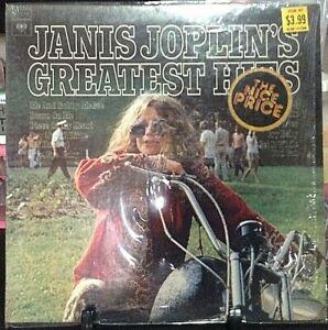 JANIS JOPLIN Greatest Hits Album Released 1973 Vinyl/Record Collection USA
