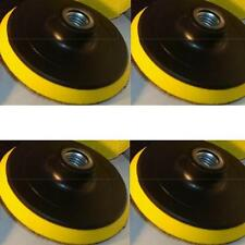"""6 Pieces 4"""" Back Holder/Backer Pads for Diamond Polishing Pads 5/8""""-11 Thread"""