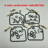 4 sets Durable Carburetor Carb Repair Kits For Honda CB650SC Nighthawk 1983-1985