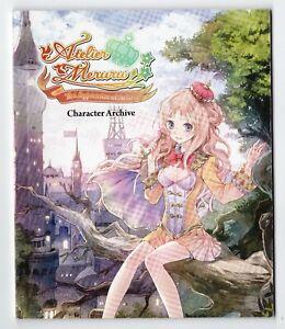 Atelier Meruru Apprentice Of Arland Character Archive Art Book