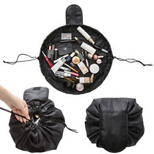 Travel Makeup Cosmetic Toiletry Wash Organizer Storage Pouch Drawstring Bag US