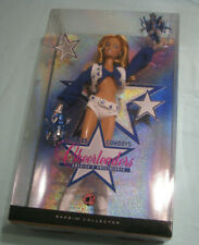 Pink Label DALLAS COWBOYS CHEERLEADERS Mattel Barbie Doll #M2316 NRFB